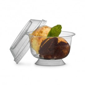 Coppa Dessert in Plastica Rigida PS 150 ml (10 Pezzi)