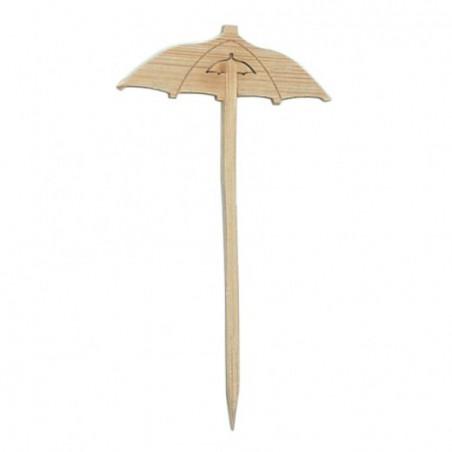 Spiedi di Bambu Decorato Parasole 90mm (100 Pezzi)