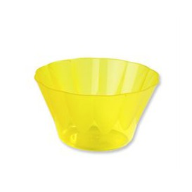 Coppa di Plastica Royal per Gelato e Dessert Gialla 500ml (25 Pezzi)