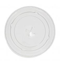 Coperchio Piatto Croce per Bicchiere PP 300ml Ø7,4cm (125 Pezzi)