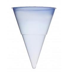 Cone di Plastica PP Blu 115 ml per Acqua (1.000 Pezzi)