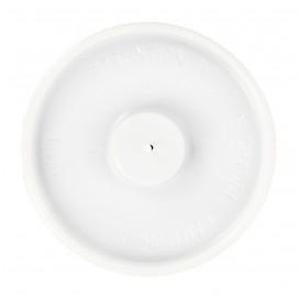 Coperchino Piatto Bicchiere Carta 4Oz/120ml Bianco Ø6,2cm (100 Pezzi)