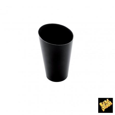 Bicchiere Degustazione Conico Alto Nero 70 ml (25 Pezzi)