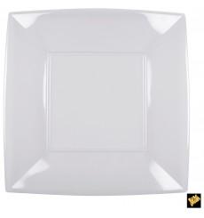 Piatto Plastica Piano Quadrato Trasp. 290mm (72 Pezzi)