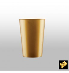 Bicchiere Plastica Rigida Viola Pearl PS 200ml (50 Pezzi)