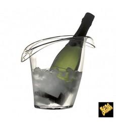 Secchio di Plastica per 1 Bottiglia Trasp. SMMA (1 Pezzi)