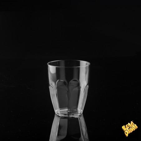 Bicchiere di Plastica Transparent SAN 355ml (6 Pezzi)