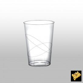 Bicchiere Plastica Moon Trasparente PS 230ml (50 Pezzi)