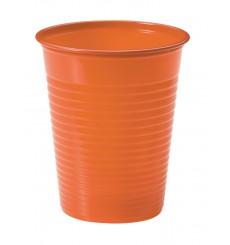 Bicchiere di Plastica Arancione PS 200ml (1500 Pezzi)