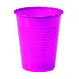 Bicchiere di Plastica Fucsia PS 200ml (1500 Pezzi)