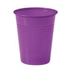 Bicchiere di Plastica Violeta PS 200ml (50 Pezzi)
