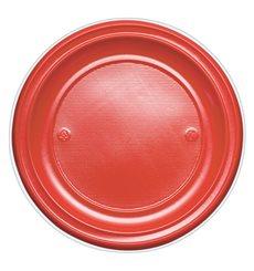 Piatto di Plastica Piano Oro PS 220mm (780 Pezzi)