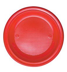 Piatto di Plastica Fondo Oro PS 220mm (30 Pezzi)
