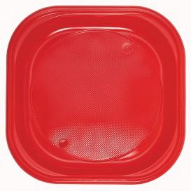 Piatto di Plastica Piazza Piano Nero PS 170mm (720 Pezzi)