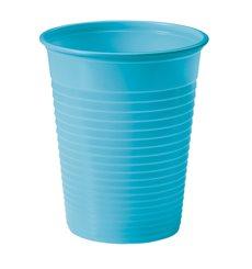 Bicchiere di Plastica Rosso PS 200ml (50 Pezzi)