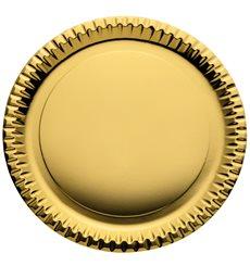 Piatto di Carta Tondo Argento 290mm (60 Pezzi)