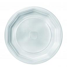 Piatto di Plastica Piano Bianco PS 220 mm (1600 Pezzi)