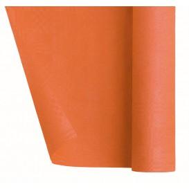 Tovaglia di Carta Rotolo Arancione 1,2x7m (25 Pezzi)