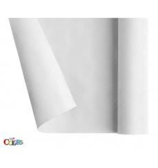 Tovaglietta di Carta 1,2x7m Bianco (25 Pezzi)