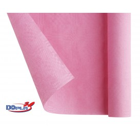 Tovaglia di Carta Rotolo Rosa 1,2x7m (25 Pezzi)
