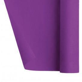 Tovaglia di Carta Rotolo Viola 1,2x7m (25 Pezzi)