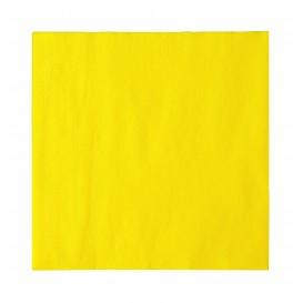 Tovagliolo di Carta 2 Velis Giallo 33x33cm (1200 Pezzi)