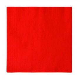 Tovagliolo di Carta 2 Velis Rosso 33x33cm (50 Pezzi)