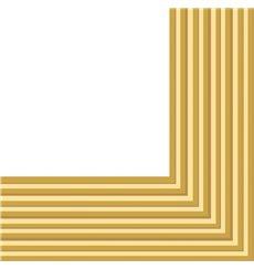 Tovagliolo di Carta 2 Velis Oro 33x33 cm (480 Pezzi)