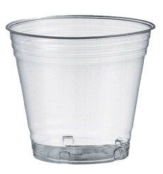 Bicchiere PLA Bio Trasparente 160ml Ø7,2cm (50 Pezzi)