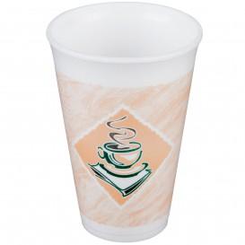 """Bicchiere Termici EPS """"Café"""" 16Oz/480ml Ø9,4cm (25 Pezzi)"""