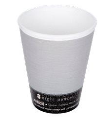 "Bicchiere Termici EPS ""Fusion"" Grigio 9Oz/266ml Ø81mm (25 Pezzi)"