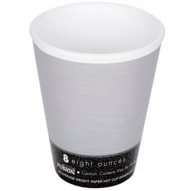"Bicchiere Termici EPS ""Fusion"" Grigio 9Oz/266ml Ø8,1cm (1000 Pezzi)"