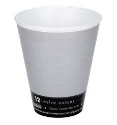 "Bicchiere Termici EPS ""Fusion"" Grigio 12Oz/355ml Ø94mm (1000 Pezzi)"