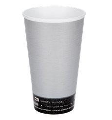 "Bicchiere Termici EPS ""Fusion"" Grigio 20Oz/591ml Ø94mm Ø94mm (20 Pezzi)"