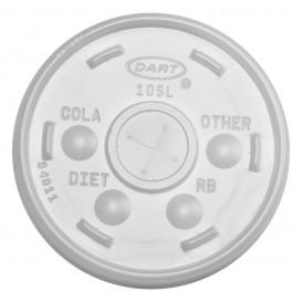 Coperchio Croce Bicchiere Termici PS Ø8,6cm (100 Pezzi)