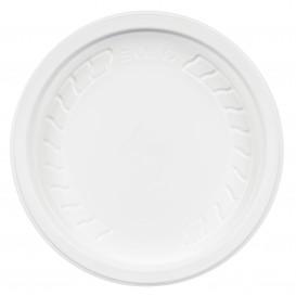 """Coperchio di Plastica PP """"Deli"""" Bianco Ø120mm (50 Pezzi)"""