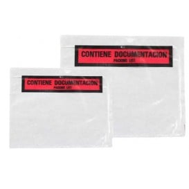 Busta Adesivi Packing List Stampato 235x130mm (250 Uds)