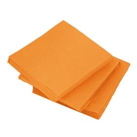 Tovagliolo di Carta micro-point Arancione 20x20cm (100 Pezzi)