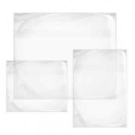 Busta Adesivi Packing List Trasp. 330x235mm (250 Uds)