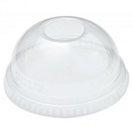 Coperchio Cupola con Foro PET Glas Ø7,8cm (100 Pezzi)