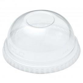 Coperchio a Cupola senza Foro per Bicchieri PET Solo Ultra Clear 7Oz (125 Pezzi)