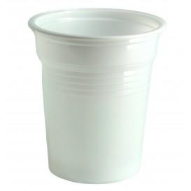 Bicchiere di Plastica PS Bianco 100ml Ø5,7cm (4800 Pezzi)