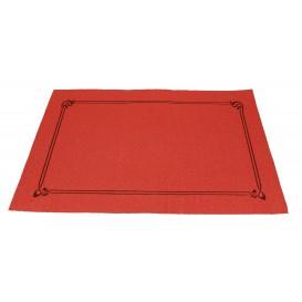 Mantelito de papel 300x400mm Rojo 40G (1.000 Uds)