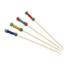 Spiedi di Legno Ball 120 mm (12 Pezzi)