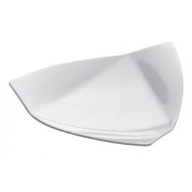 Piatto Degustazione Vela Small Bianco 8,5x8,5 cm (500 Pezzi)