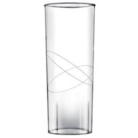 Bicchiere di Plastica Rigida Trasparente PP 300ml (10 Pezzi)