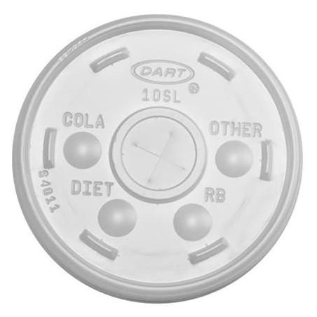 Coperchio a Croce per Bicchiere Termico EPS Ø8,9cm (100 Pezzi)