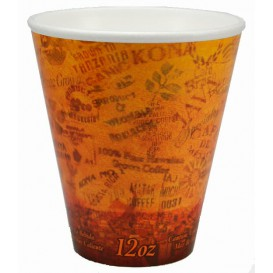 "Bicchiere Termici EPS ""Fusion"" Arancione 12Oz/355ml Ø9,4cm (1000 Pezzi)"