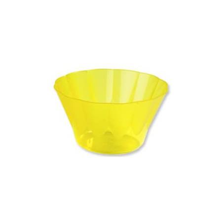 Coppa di Plastica Royal per Gelato e Dessert Gialla 500ml (550 Pezzi)