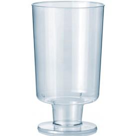 Calice con Gambo di Plastica 150 ml 1P (12 Pezzi)